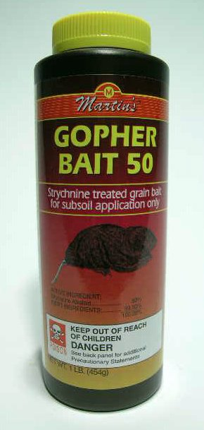 GOPHER BAIT 1 LB
