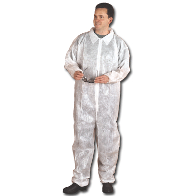 COVERALLS DISPOSABLE X-LARGE