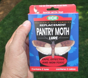 MEAL MOTH GLASS TRAP 2PK REFILL